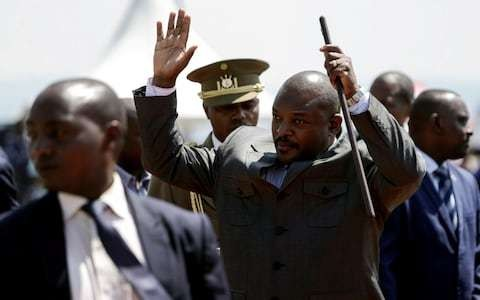 Burundi agrees 'golden parachute' including luxury villa for outgoing presidents - three months before incumbent steps down