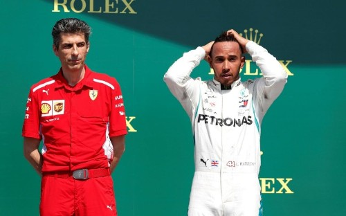 Lewis Hamilton accused of 'crying like a girl' and urged to 'take up ballet' by Kimi Raikkonen's wife