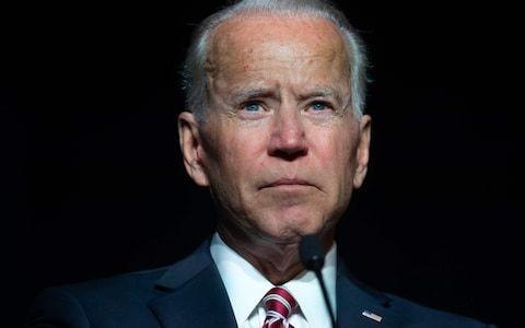 Joe Biden defends his behaviour with women, saying he believes he 'never' acted inappropriately