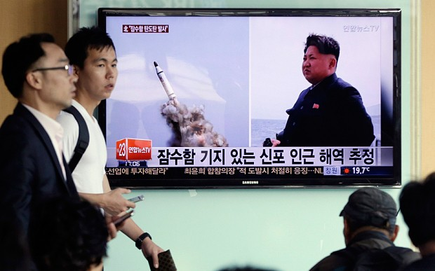 Kim Jong-un claims 'photoshopped' North Korea missile launch was 'eye-opening miracle'