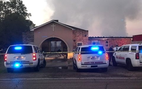 FBI called in to investigate fires at three black churches in Louisiana