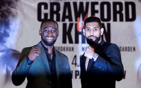 Terence Crawford vs Amir Khan: What time is the fight tomorrow, what TV channel is it on and what is our prediction?
