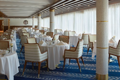 In pictures: The 'world's most luxurious cruise ship'