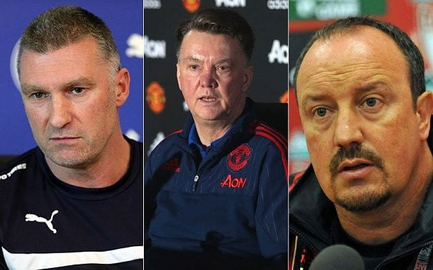Louis van Gaal walks out of Man Utd press conference, but where does it rank in the best managerial rants?