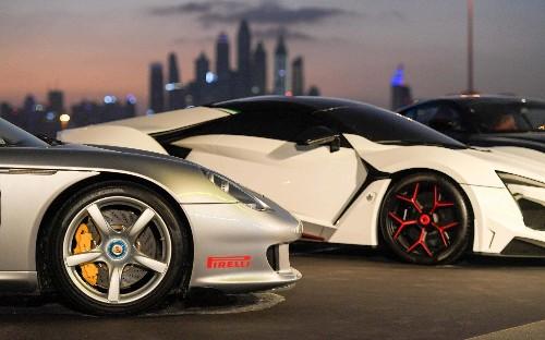 60 supercars on parade as Pirelli opens P Zero World Dubai