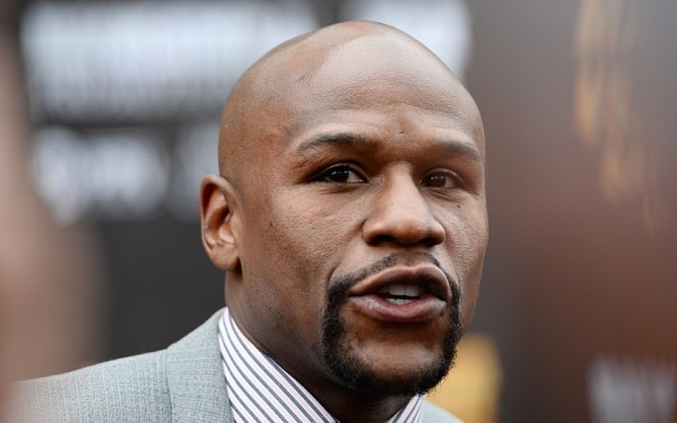 Floyd Mayweather to wear $25,000 mouthguard with diamonds, gold and $100 bills for Manny Pacquiao fight