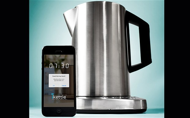 WiFi kettle allows you to boil water from bed