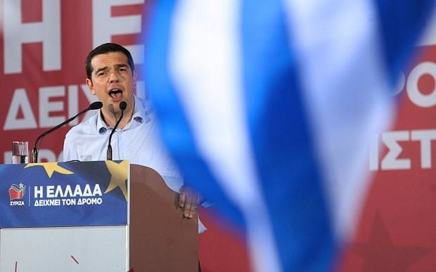Greece is on a fast track out of the euro
