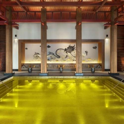 Beautiful luxury spas around the world