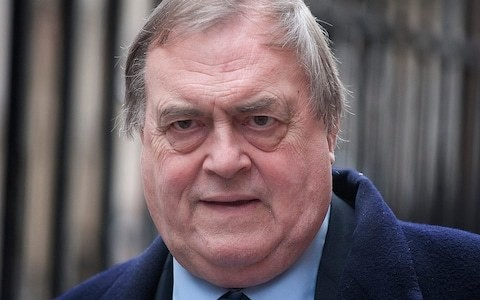 Former Deputy PM Lord Prescott admitted to hospital after suffering a stroke