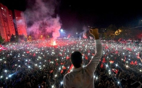 President Erdogan's iron grip on Turkey may finally be weakening