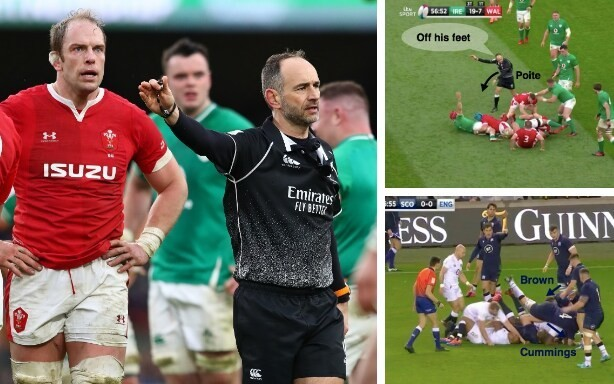 Six Nations ruck ratings: 'Please, CJ, support your bodyweight, OK?'