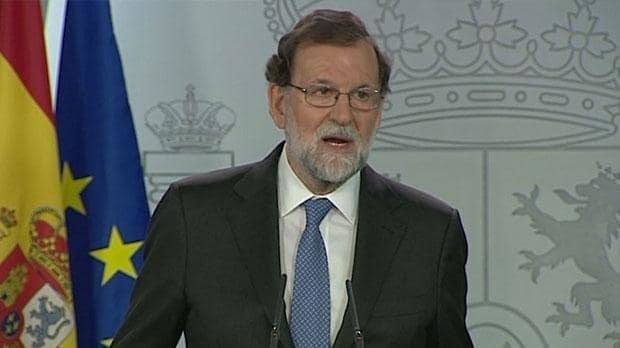 Watch: Spain dissolves Catalan parliament and calls snap election