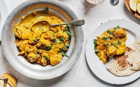 Creamy chicken and ginger curry recipe