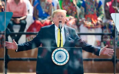 Donald Trump butchers pronunciation of Sachin Tendulkar on state visit to India