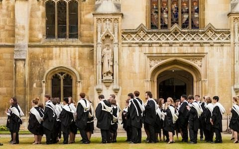 Do you now have to be Left-wing to study at the University of Cambridge?