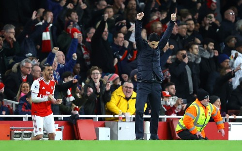 Mikel Arteta revels in 'best week' as Arsenal manager