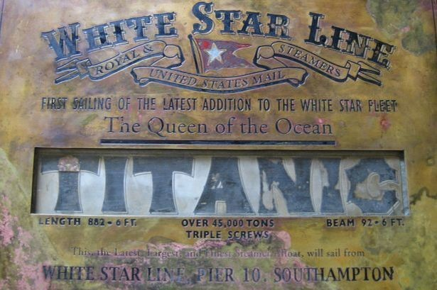Rare Titanic plaque thought to be lost for over a century re-emerges in Spain
