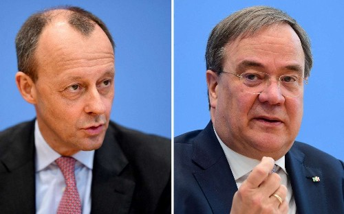 Contenders square off in race to succeed Angela Merkel