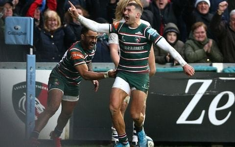 Sam Harrison handed winning send off as Leicester pile pressure on relegation rivals with victory over Bristol