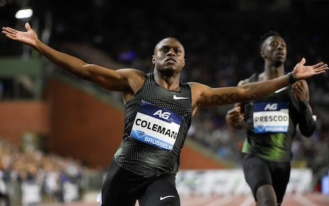 Christian Coleman free to compete at worlds after Usada drops case