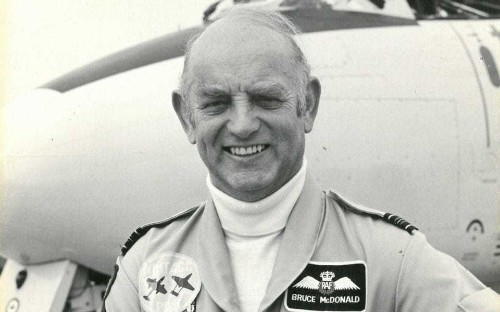 Bruce McDonald, pilot who flew combat missions during the Mau Mau uprising and later joined the Red Pelicans aerobatic team – obituary
