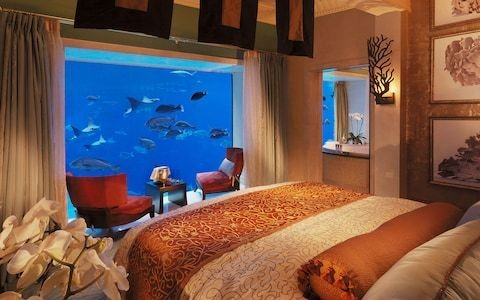 The brave new world of luxury hotel interiors in Dubai, from underwater suites to sky-high palaces