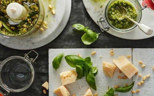 Stephen Harris: a potted history of pesto