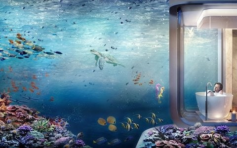 The future of travel, from villas beneath the sea to journeys into space