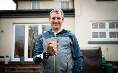 Military veteran becomes first person to receive 3D-printed 'hero arm' on NHS