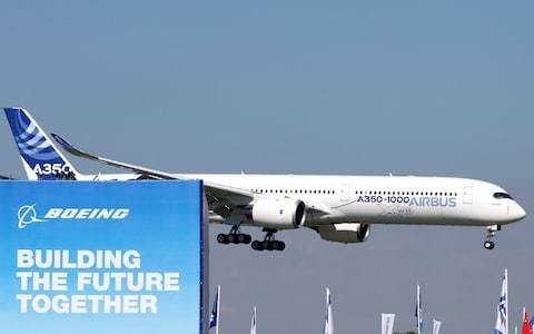 Boeing under pressure at Paris air show while Airbus reveals new plane