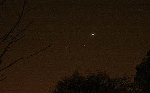 Venus, Jupiter and Mars cross paths in pre-Halloween spectacle for last time until 2021