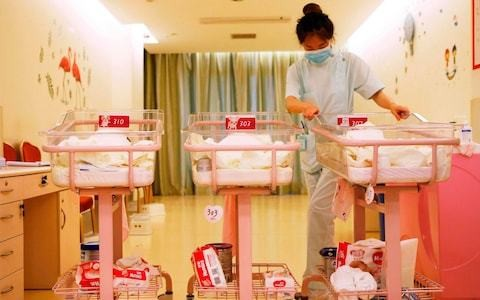China's birthrate falls to lowest level under Communism despite push for more babies