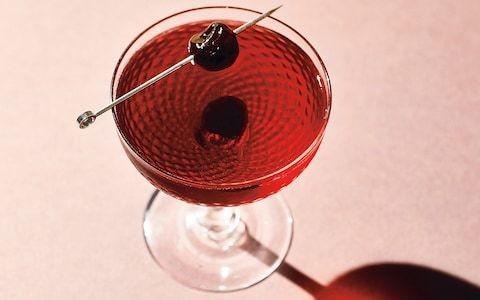 Non-alcoholic Manhattan cocktail recipe