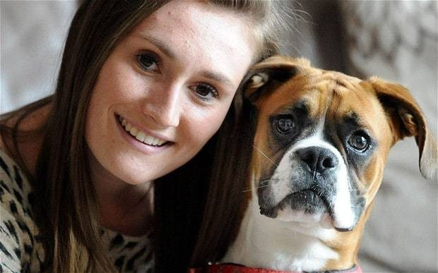 Owner saves puppy's life using dog-CPR