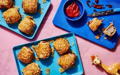 Easy home-made sausage rolls