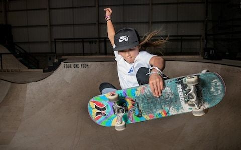 10-year-old skateboarder Sky Brown wins gold at National Championships in Salford