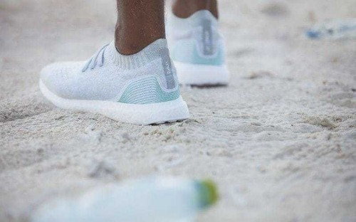 Adidas creates trainers made out of ocean waste in effort to reduce plastic in waters around world