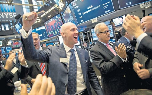 Now professional investors admit they're too scared NOT to invest
