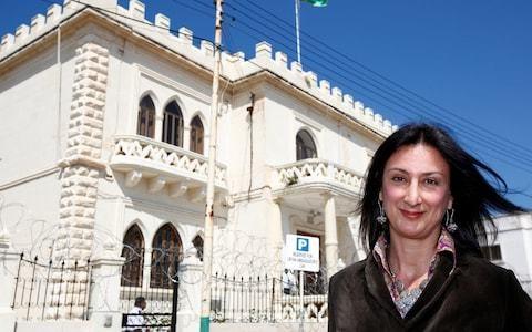 Malta arrests man suspected of being middleman in murder of journalist Daphne Caruana Galizia