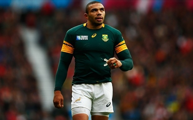 Rugby World Cup 2015: Springboks wing Bryan Habana pays tribute to murdered South African rugby coach