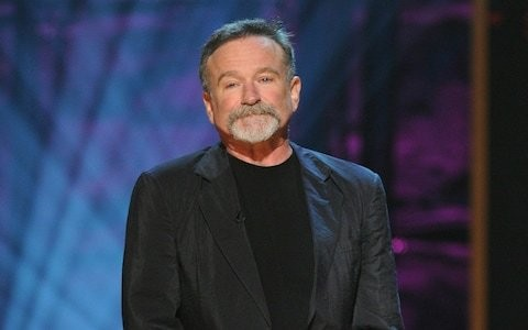 'He was sobbing in my arms every day': Robin Williams's on-set suffering revealed in new biography