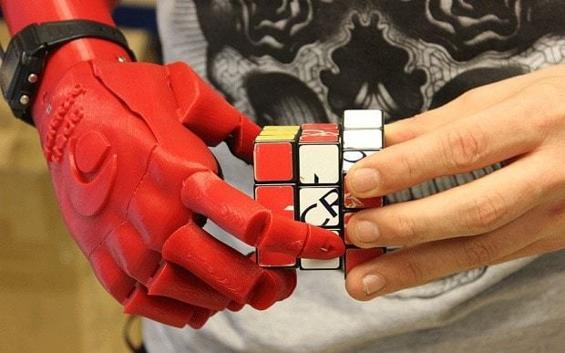 University graduate wins James Dyson Award for 3D-printed prosthetic hand