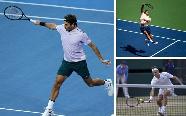 Roger Federer's 14 sexiest ever shots