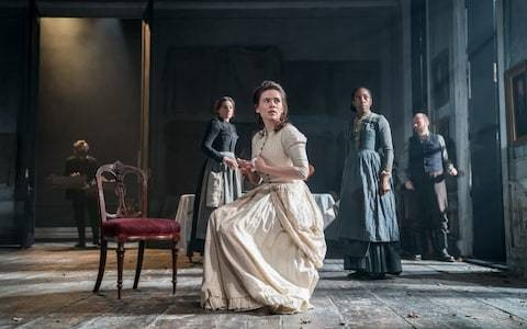 Rosmersholm review, Duke of York's Theatre: Hayley Atwell and Tom Burke help give Ibsen a grippingly modern resonance