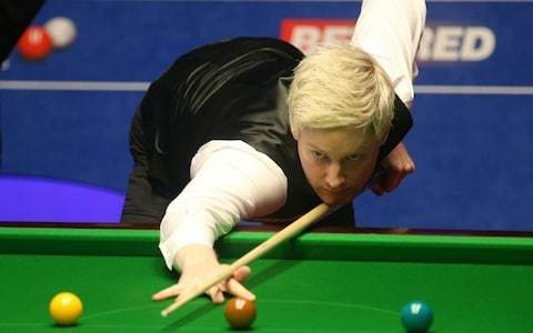 Neil Robertson sweeps past Cypriot debutant ­Michael Georgiou in World Championship opener