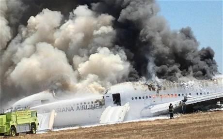San Francisco plane crash pilot 'could not see runway'