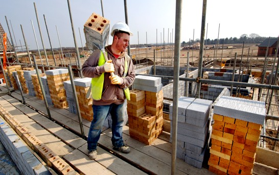 UK construction growth cements recovery hopes