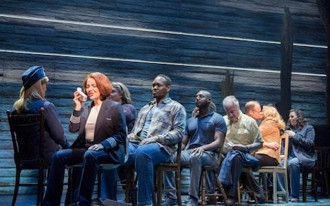 Come From Away, Phoenix Theatre, review: glossing over the trauma of 9/11