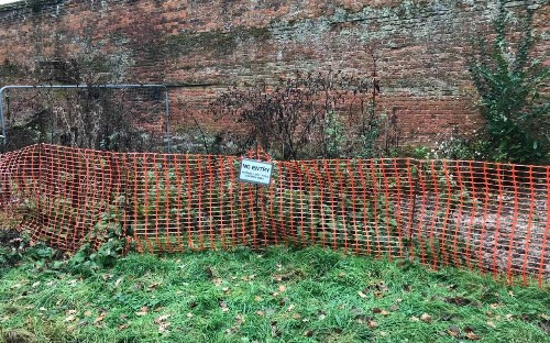 Owner of 17th century mansion destroyed his tenant's garden after fearing knotweed would tear estate apart, court hears